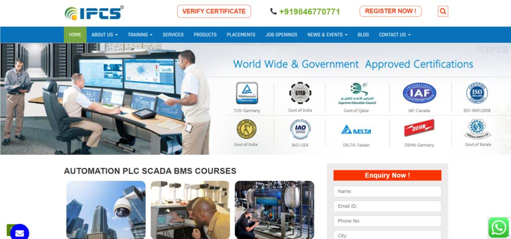 ipcs cctv course in trivandrum